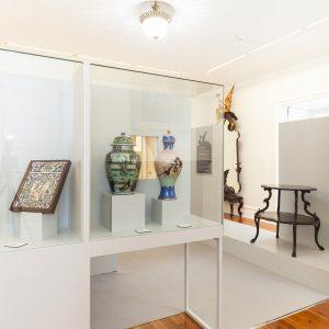 Exposición de artes decorativas en Pazo de Castrelos