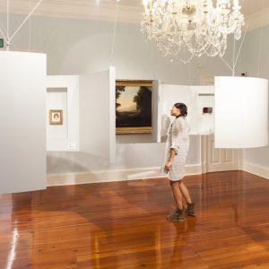 Diseño de exposición para Pazo de Castrelos, retratos