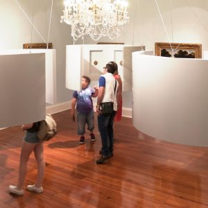Diseño exposición en Pazo Quiñones de León