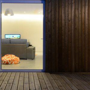 Contraventana madera en vivienda en Mondariz